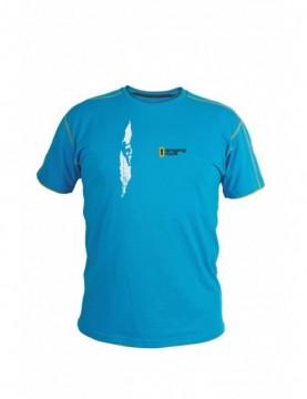 T-shirt Blue Crack Men