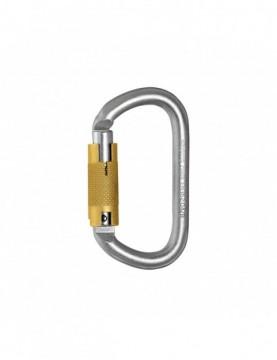Karabinek Oval Steel Triact Lock