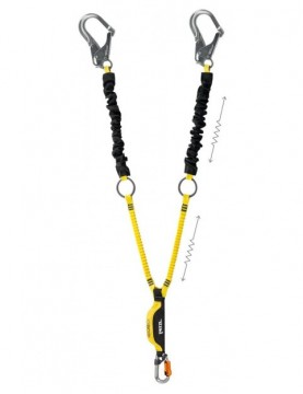 Lonża z absorberem energii Absorbica-Y Tie-Back 150